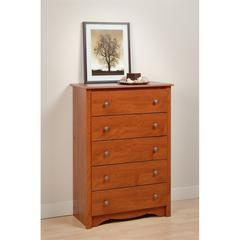 Prepac Cherry Monterey 5 Drawer Chest
