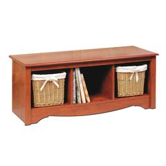 Prepac Cherry Cubbie Bench