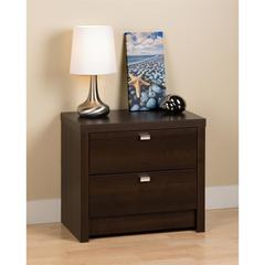 Espresso Series 9 Designer - 2 Drawer Nightstand