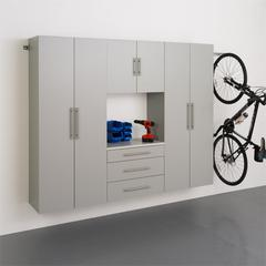 "Prepac HangUps 90"" Storage Cabinet Set G - 4pc"