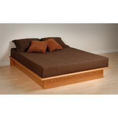 Prepac Oak Full Platform Bed