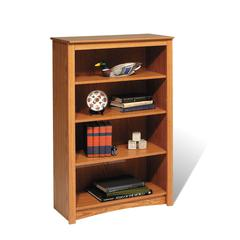 Oak 4-shelf Bookcase