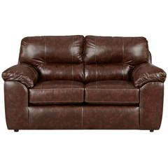 Flash Furniture Exceptional Designs by Flash Cheyenne Cafe Leather Loveseat