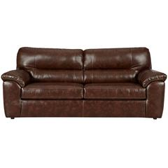 Exceptional Designs by Flash Cheyenne Cafe Leather Sofa