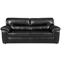 Flash Furniture Exceptional Designs by Flash Taos Black Leather Sofa