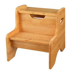 Two Step Stool - Natural