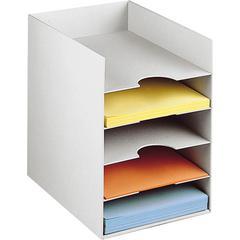 "PAPERFLOW 10 1/6 "" W.  horizontal organiser .Grey"