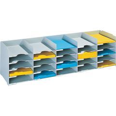 "PAPERFLOW 44 "" W. Stackable horizontal organiser .Grey"