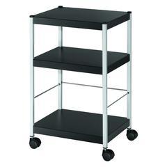 """PAPERFLOW Heavy-duty  3 shelf  """"S"""" multi-purpose trolley"""