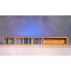 Solid Oak Wall or Shelf Mount CD Cabinet