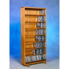 Solid Oak Dowel Cabinet for CD's