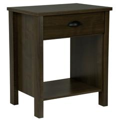 Nouvelle Night Stand, 21-1/4 x 16 x 24-3/4, Walnut