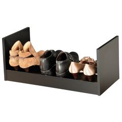 Stackable Shoe Racks, 24 x 12 x 10, Black