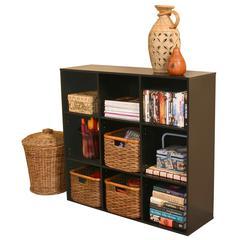 Project Center Bookcase, 39 x 11-1/2 x 36, Black