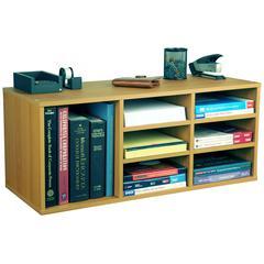 Venture Horizon 9 Compartment Organizer, 31 x 12 x 13, Oak