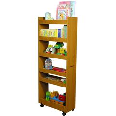 Venture Horizon Thin Man Pantry Cabinet, 10 x 23-1/2 x 58, Oak