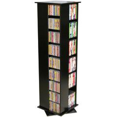 Molded Rev. Media Tower, 16 x 16 x 56, Black