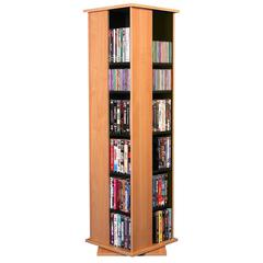 Molded Rev. Media Tower, 16 x 16 x 56, Oak