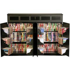 Venture Horizon Top Load Media Cabinet, 48 x 13 x 37-1/4, Black
