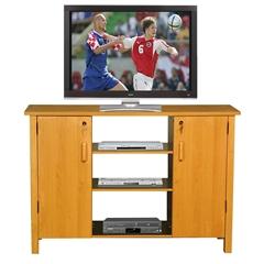 Venture Horizon Multi-Media A/V Cabinet, 47-1/4 x 15-3/4 x 32-3/8, Oak