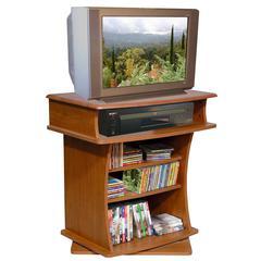 TV Swivel Cabinet, 29 x 20 x 30, Cherry