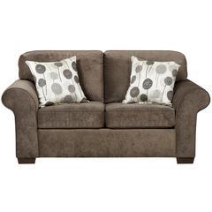 Flash Furniture Exceptional Designs by Flash Elizabeth Ash Microfiber Loveseat