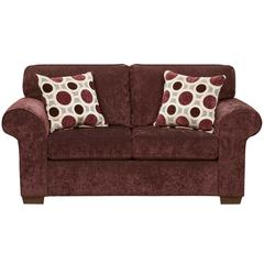 Exceptional Designs by Flash Prism Elderberry Microfiber Loveseat