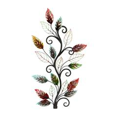 Metal Wall Decor Brings The Nature To Your Rooms