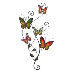 Benzara Metal Wall Decor For Nature Lovers