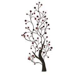 Benzara Metal Wall Decor Casted In Shape Of Vast Tree