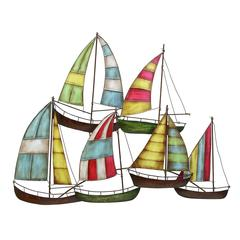 Benzara Metal Sailing Boat Decor A Perfect Nautical Decor