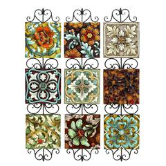 Benzara Metal Wall Decor Set Of 3 Assorted With In 3 Separate Plates