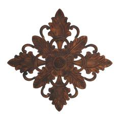 Benzara Premium Grade Wood Wall Plaque With Charming Motifs