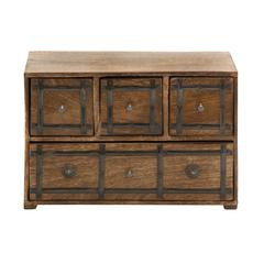 Simply Timeless Wood Box With Drawer