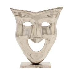 Cool And Artistic Aluminum Face Mask