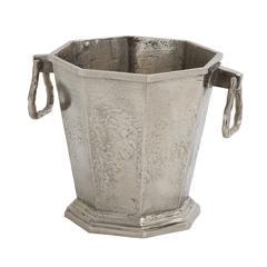 Benzara Stunning And Strong Aluminum Ice Bucket