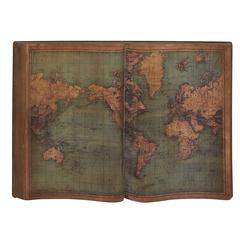 Benzara Cool And Unique Wood Wall World Map