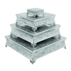 Aluminum Cake Stand Set Of 4 A Dining Area Specific Decor