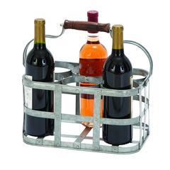 "Vino Metal Wine Holder 13""W, 7""H"