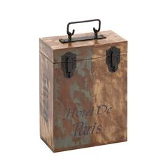 The Amazing Wood Two Bottle Wine Box
