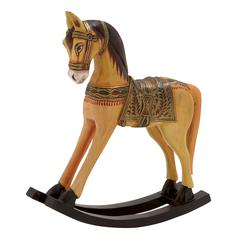 Simply Beautiful Wood Rocking Horse