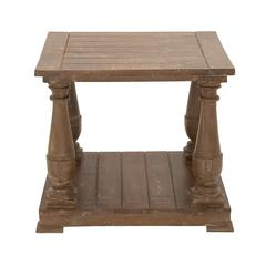 Beautiful And Simple Wood End Table