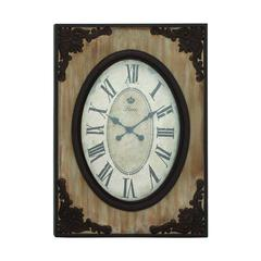 Country Style Wood Wall Clock