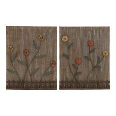 Benzara Lovely And Attractive Assorted Set Of 2 Wall Decor