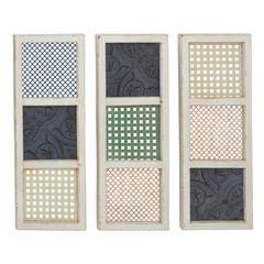 Benzara Simply Lovely Wood Wall Decorative 3 Assorted