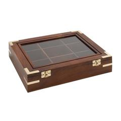 Benzara Opaque Styled Attractive Wood Box