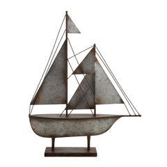Benzara Contemporary Styled Metal Sailboat