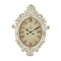 Antique Wood Wall Clock