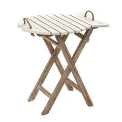 Simple Exquisite Wood Folding Table