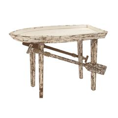 Timeless And Classic Wood Boat Table